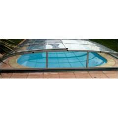 Abris pour piscine 7,5m x 3m