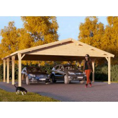 Carport Classc doucle 6m x 6m