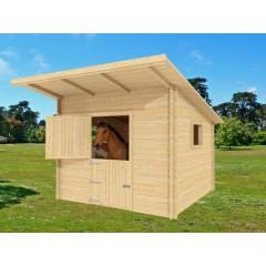 Boxe pour chevaux  44mm 3,5m x 3m