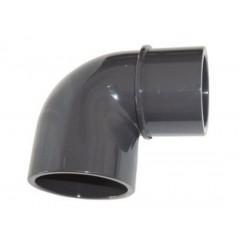 Coude PVC 90° PN16 M-F 50mm