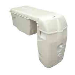 Bloc filtrant 13,5 m3/h avec projecteur Led blanc.