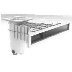 Skimmer Design extra plat pour piscine béton et liner